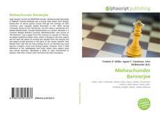 Portada del libro de Moheschunder Bannerjee