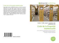 Обложка Code de la Propriété Intellectuelle