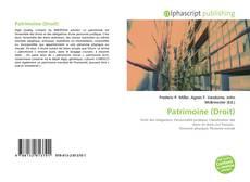Bookcover of Patrimoine (Droit)