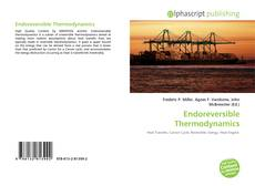 Bookcover of Endoreversible Thermodynamics