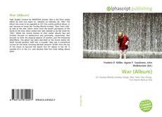 Bookcover of War (Album)