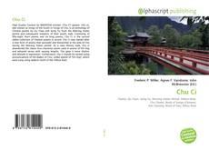 Bookcover of Chu Ci