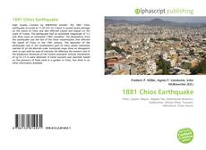 Bookcover of 1881 Chios Earthquake