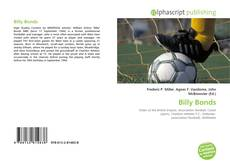 Bookcover of Billy Bonds