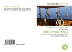 Bookcover of Battle of Vélez-Málaga