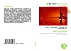 Bookcover of Cyclogenesis