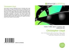 Bookcover of Christopher Lloyd
