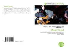Capa do livro de Minor Threat