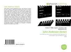 Bookcover of John Anderson (Actor)