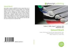Bookcover of Gérard Brach