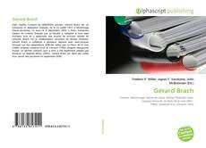 Couverture de Gérard Brach