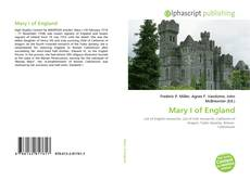 Bookcover of Mary I of England