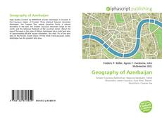 Bookcover of Geography of Azerbaijan
