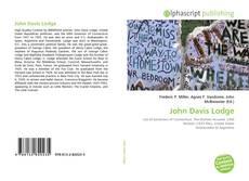 Portada del libro de John Davis Lodge
