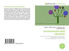 Environmental adult education的封面