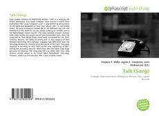 Talk (Song) kitap kapağı