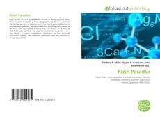 Bookcover of Klein Paradox