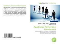 Обложка Application Performance Management