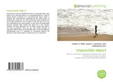 Bookcover of Impossible object