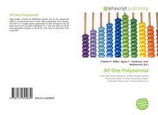 Portada del libro de All One Polynomial