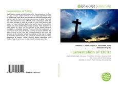 Обложка Lamentation of Christ
