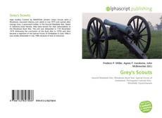 Capa do livro de Grey's Scouts