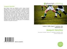 Bookcover of Joaquín Sánchez
