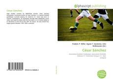 Capa do livro de César Sánchez