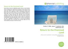 Bookcover of Return to the Promised Land