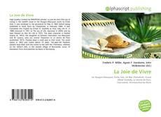 Bookcover of La Joie de Vivre