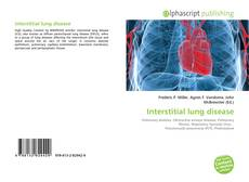 Bookcover of Interstitial lung disease