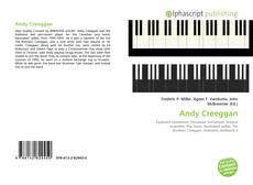 Capa do livro de Andy Creeggan