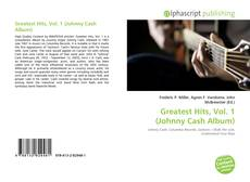 Couverture de Greatest Hits, Vol. 1 (Johnny Cash Album)