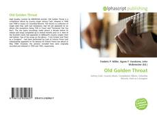 Bookcover of Old Golden Throat