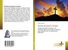 Capa do livro de 40 dias de jejum e oração