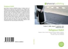 Bookcover of Religious Habit