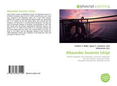 Alexander Suvorov (ship)的封面