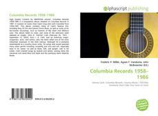 Buchcover von Columbia Records 1958–1986