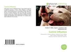 Bookcover of Canine influenza