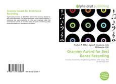 Copertina di Grammy Award for Best Dance Recording