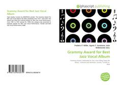 Bookcover of Grammy Award for Best Jazz Vocal Album