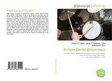 Bookcover of Ernest Carter (Drummer)