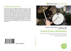 Bookcover of Ernest Carter (Drummer)