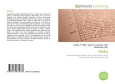 Bookcover of Haïku