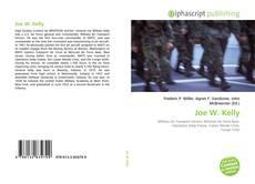 Capa do livro de Joe W. Kelly