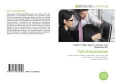 Copertina di Full virtualization