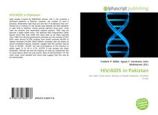 Обложка HIV/AIDS in Pakistan