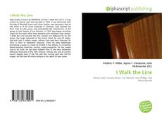Capa do livro de I Walk the Line