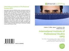 Buchcover von International Institute of Professional Studies (IIPS)