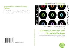 Copertina di Grammy Award for Best Recording Package